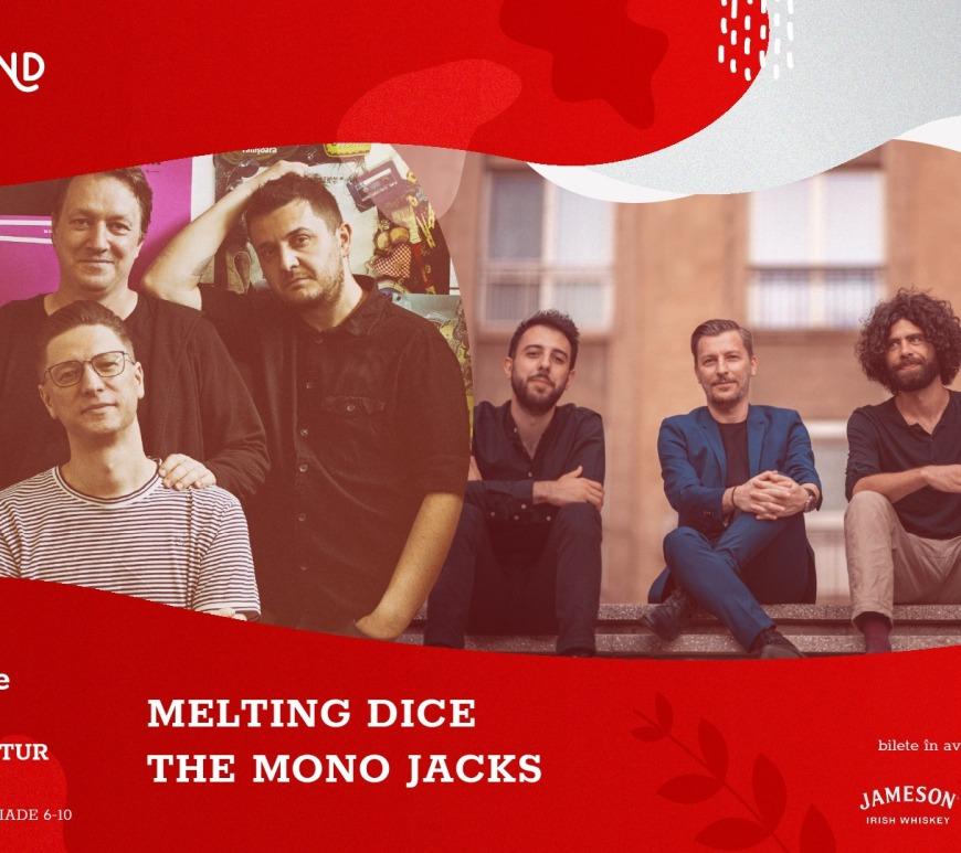 Overground Days la București: The Mono Jacks, Melting Dice - 16 Octombrie