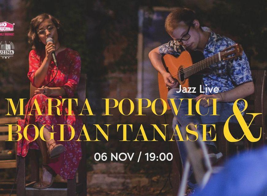 Seria Deconectat • Marta Popovici & Bogdan Tănase Jazz LIVE @ Uzina Coffee - 6 Noiembrie