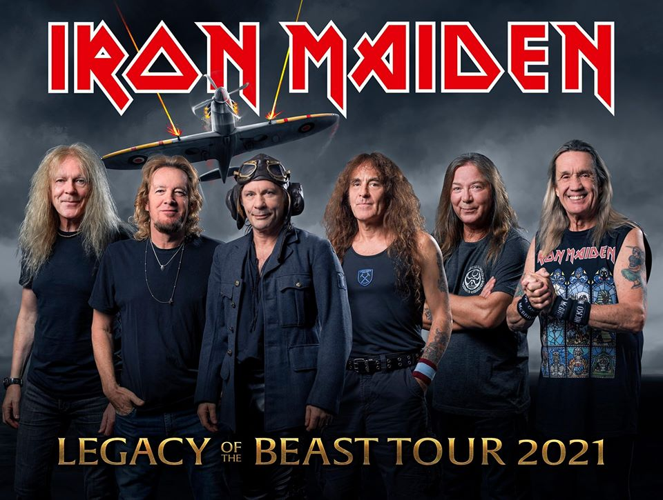 """Iron Maiden Lanseaza Piesa Live """"Sign Of The Cross"""" de pe Albumul Live Legacy of the Beast"""