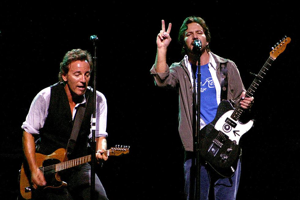 Eddie Vedder a lansat un cover după Growin' Up a lui Bruce Springsteen