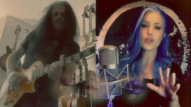 Chitaristul TESTAMENT Alex Skolnick a facut echipa cu Alissa White-Gluz de la ARCH ENEMY pentru un cover QUEEN