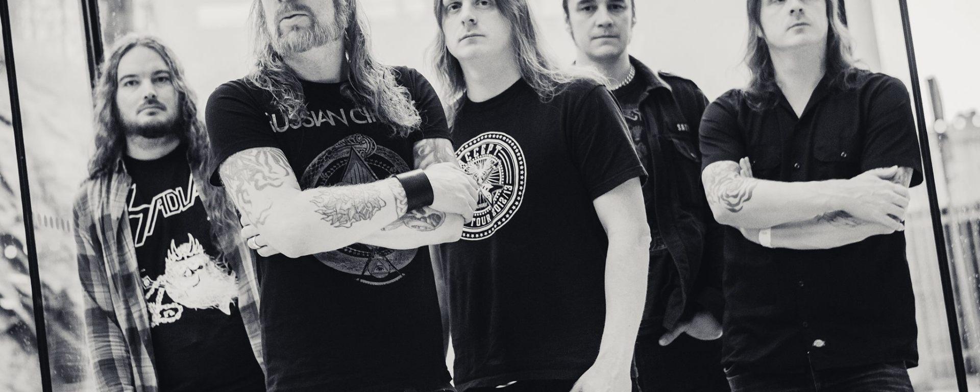 """Pionierii death metal AT THE GATES """"finalizeaza"""" mixul pentru noul lor album produs de Jens Bogren la Fascination Street Studios in Örebro, Sweden."""