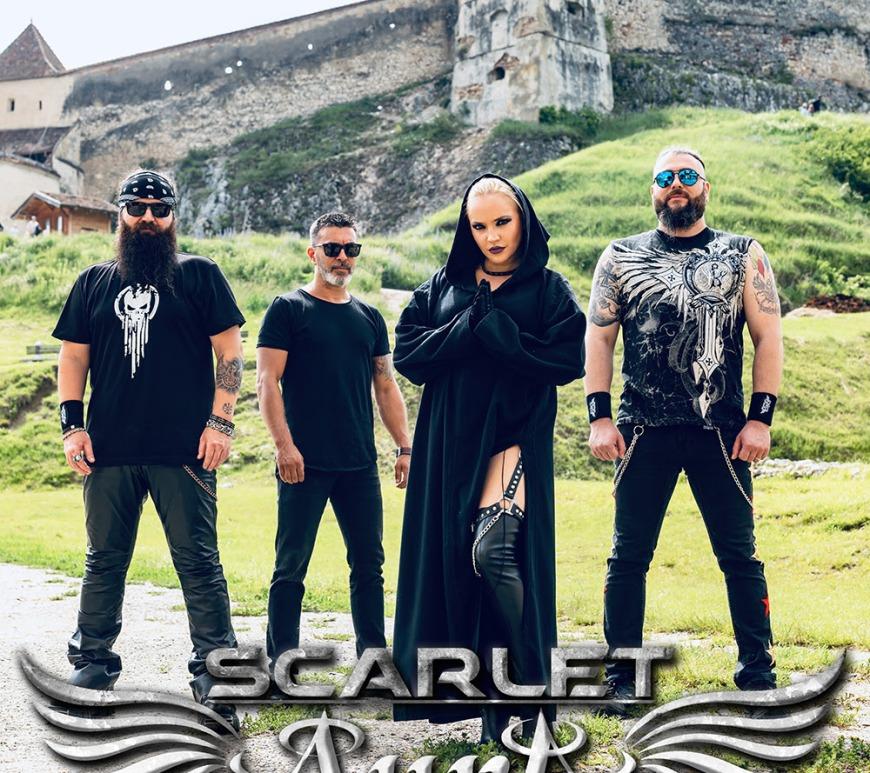 Scarlet Aura anunță un al doilea single de pe noul album și noi date de turneu