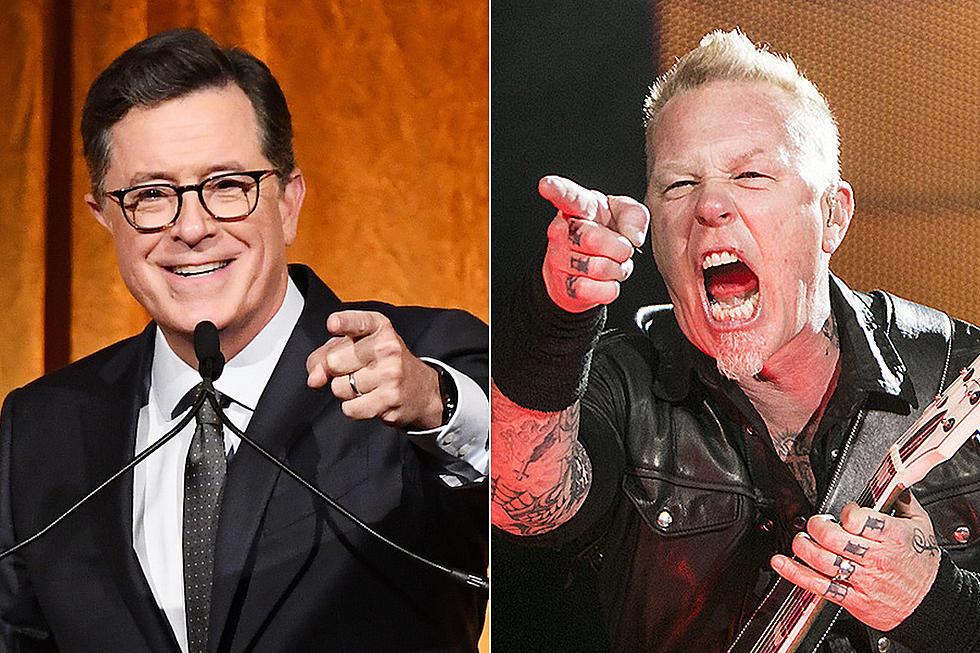 Vezi primul show Metallica pe 2021 performat în cadrul emisiunii The Late Show With Stephen Colbert
