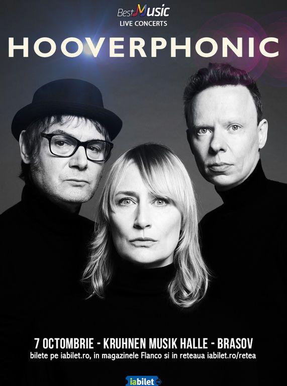 Concert Hooverphonic la Brașov, pe 7 octombrie 2021
