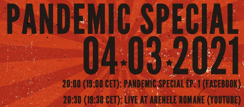 Video: Dirty Shirt - 25 Years Pandemic Special, Live at Arenele Romane