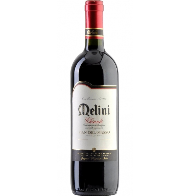 Vin rosu sec, Cupaj, Chianti Pian Del Masso Melini, 13% alc., 0.75L, Italia - Contemporary-Establishment