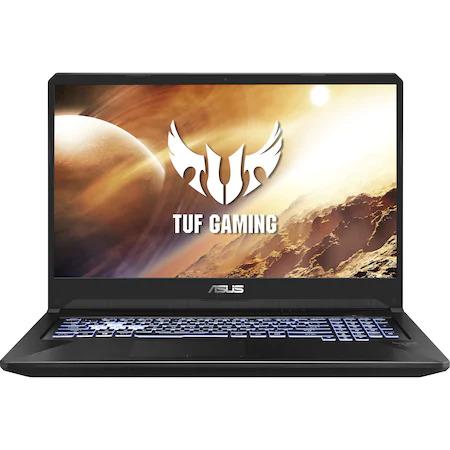 "Laptop Gaming ASUS TUF FX505DT cu procesorAMD Ryzen™ 7 3750H pana la 4.00 GHz, 15.6"", Full HD, 144Hz, 16GB, 512GB SSD, NVIDIA® GeForce® GTX 1650 4GB, Free DOS, Stealth Black"