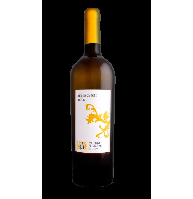 Vin alb sec, Greco, Cantine di Marzo Tufo, 13% alc., 0.75L, Grecia
