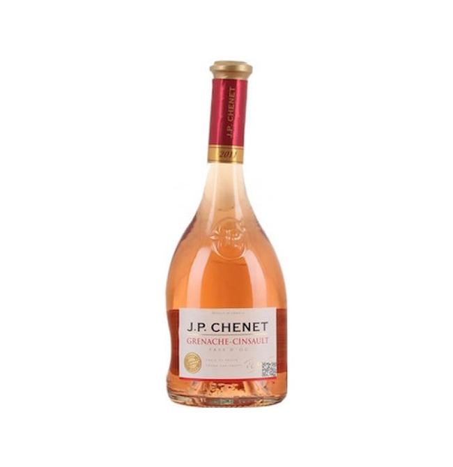 Vin roze sec, Grenache Cinsault, JP Chenet Pays d'Oc, 0.75L, 12.5% alc., Franta