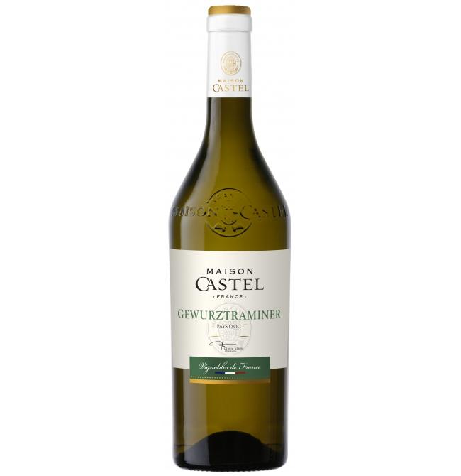 Vin alb sec, Gewürztraminer, Maison Castel Pays d'Oc, 0.75L, 12.8% alc., Franta
