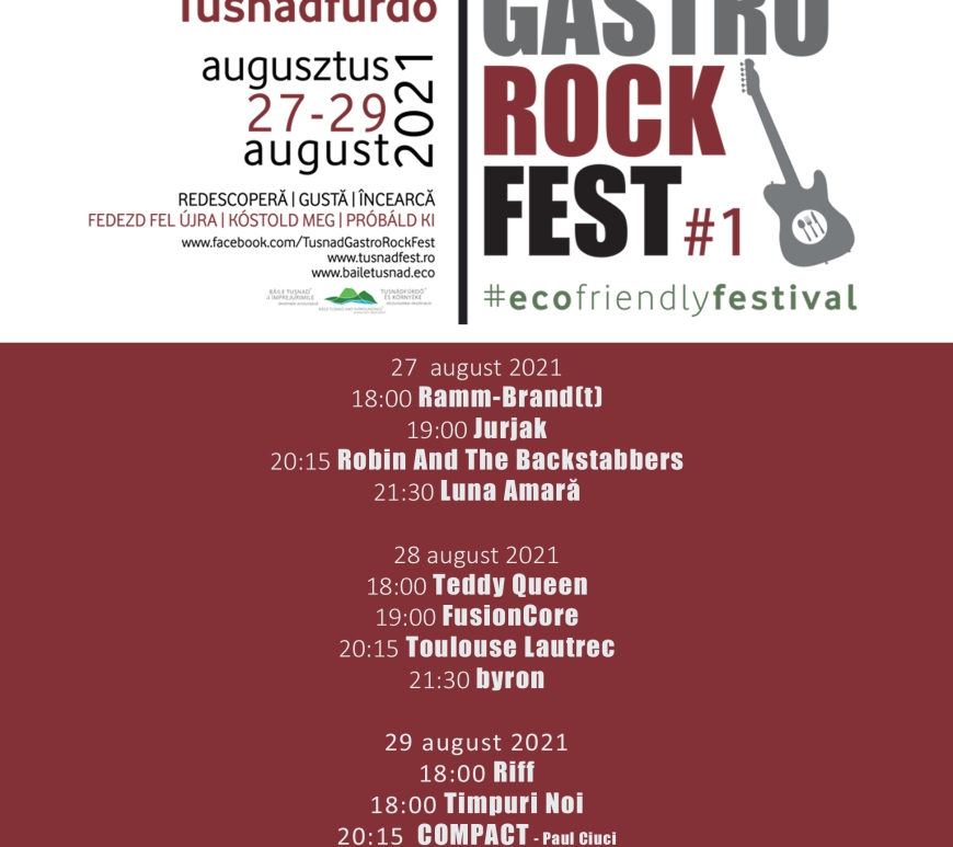 TUSNAD GASTRO ROCK FEST - Contemporary-Establishment