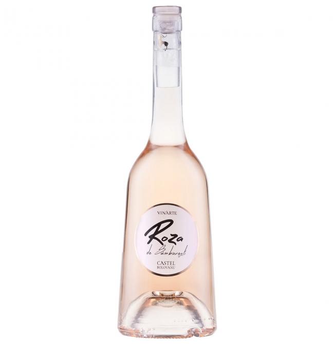 Vin roze sec, Roza de Samburesti, Cabernet Sauvignon, 12.5% alc., 0.75L, Romania