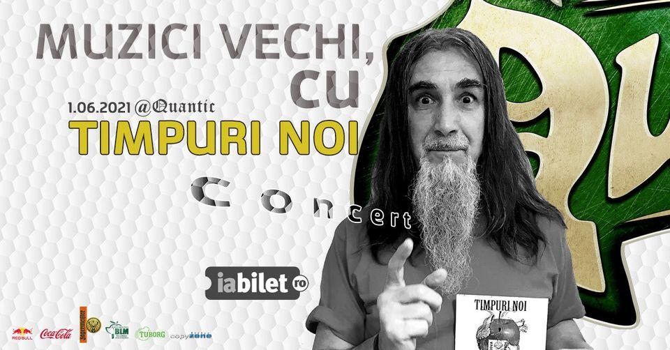 MUZICI VECHI cu TIMPURI NOI Live în Quantic București
