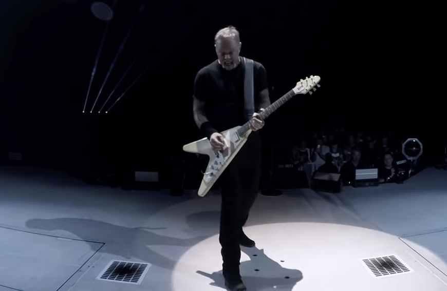 Video: Metallica a dezvăluit un nou show live din 2018