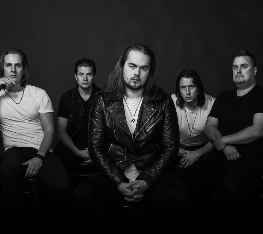 """Rockshots Records Signs Finnish Rockers THY ROW For Debut Album """"Unchained"""" Coming September 2021"""