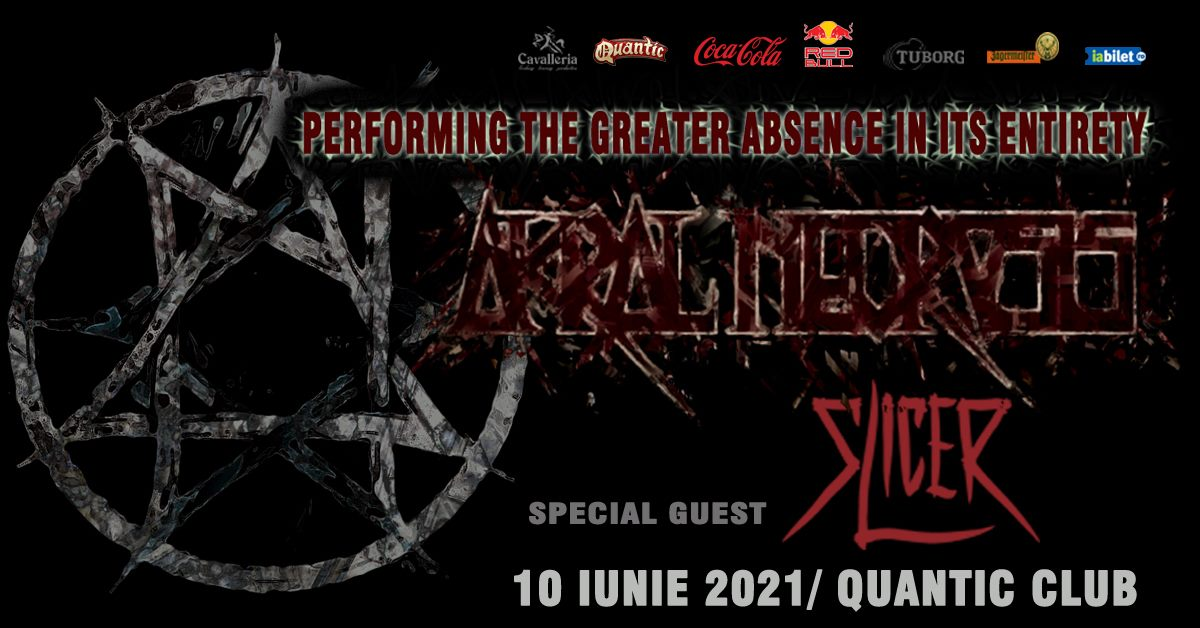"""Concert Akral Necrosis in Quantic Club. """"The Greater Absence"""", prezentat integral + Slicer"""