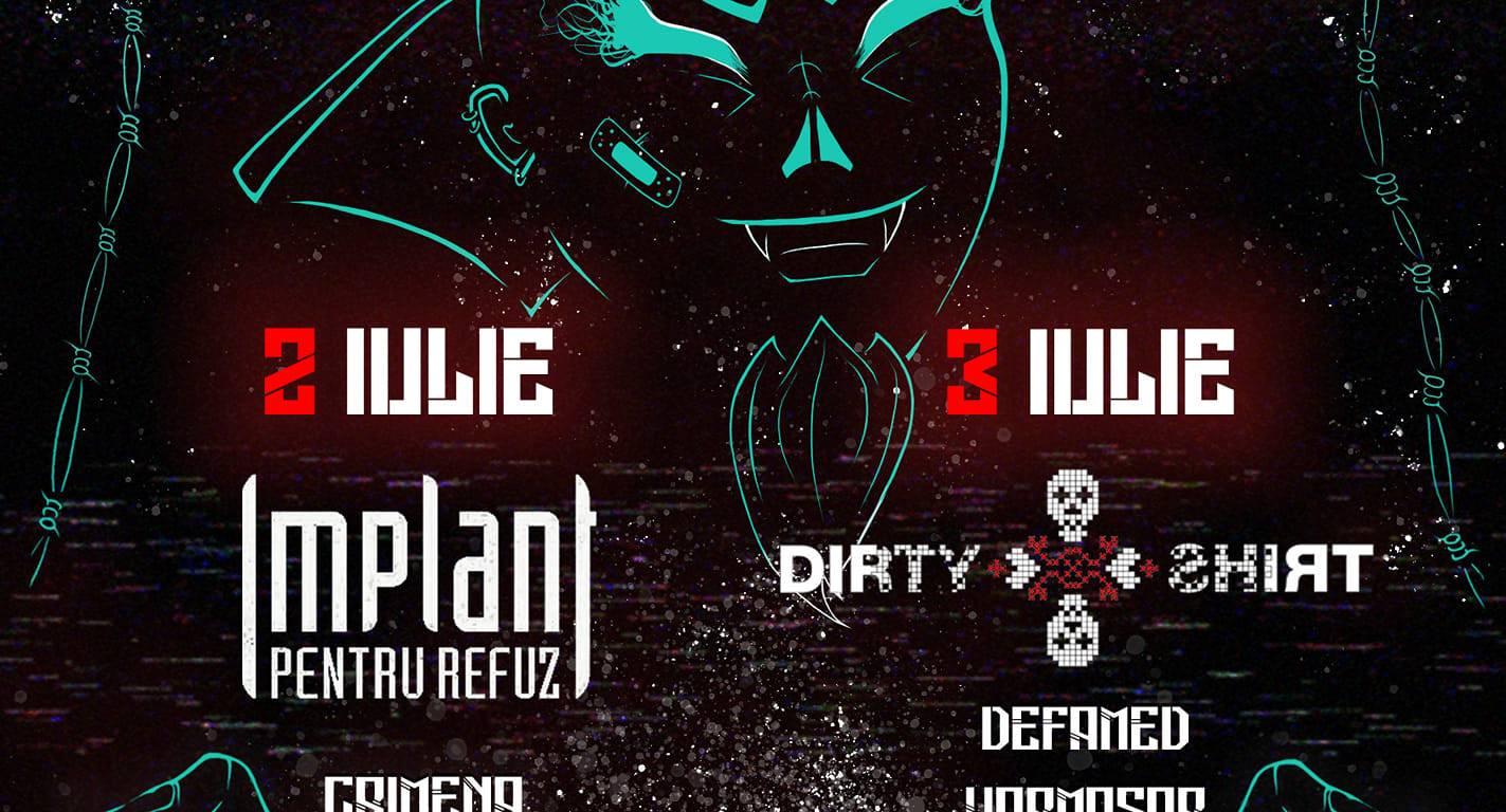 Rock Metal Nation Fest #2 în Club Quantic București (2/3 iulie)
