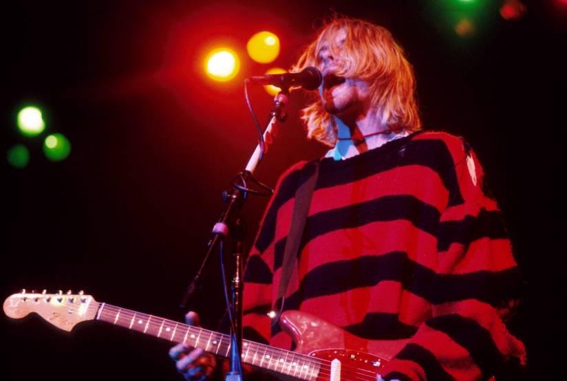 Un auto-portret a lui Kurt Cobain s-a vândut cu $281,000 la o licitație