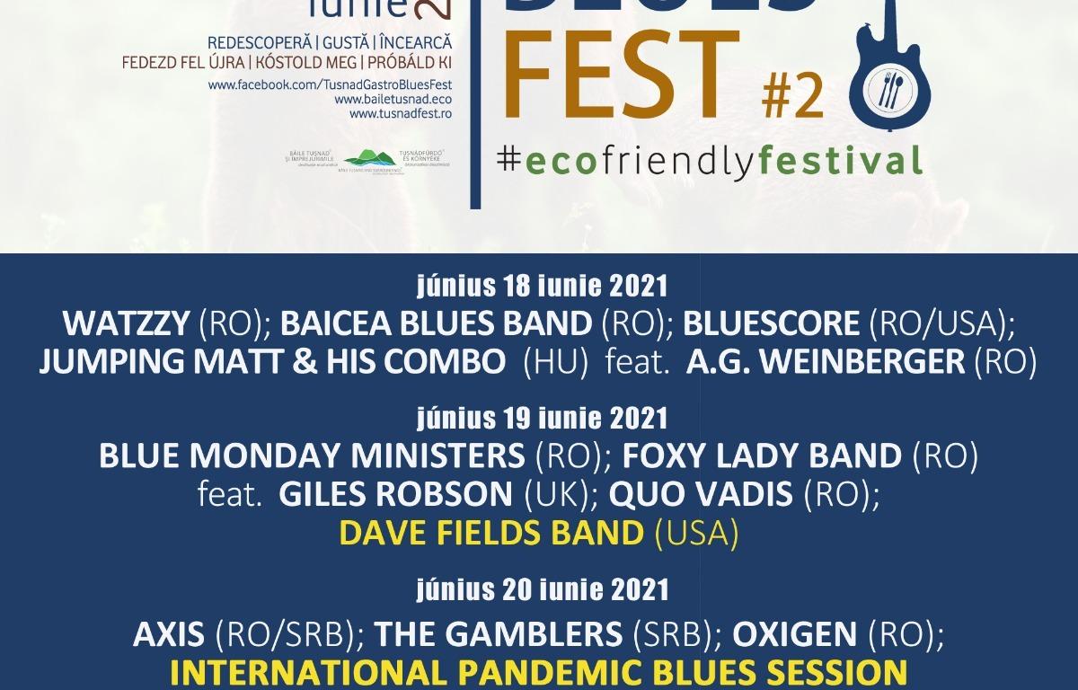 Tusnad Gastro Blues Fest - Program final si reguli de acces