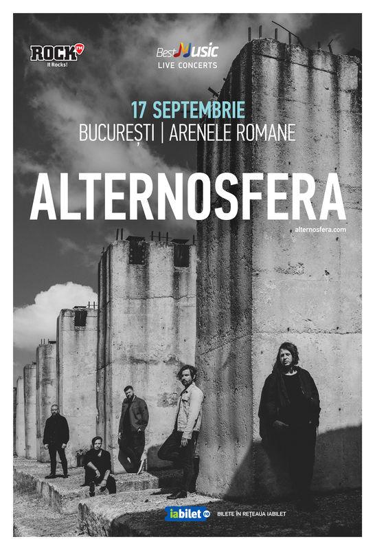 Concert Alternosfera la Arenele Romane București