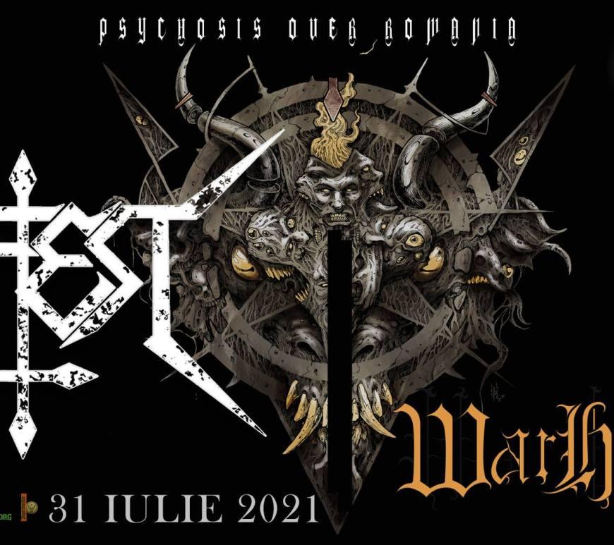INFEST & WARHYMN Live in Quantic București