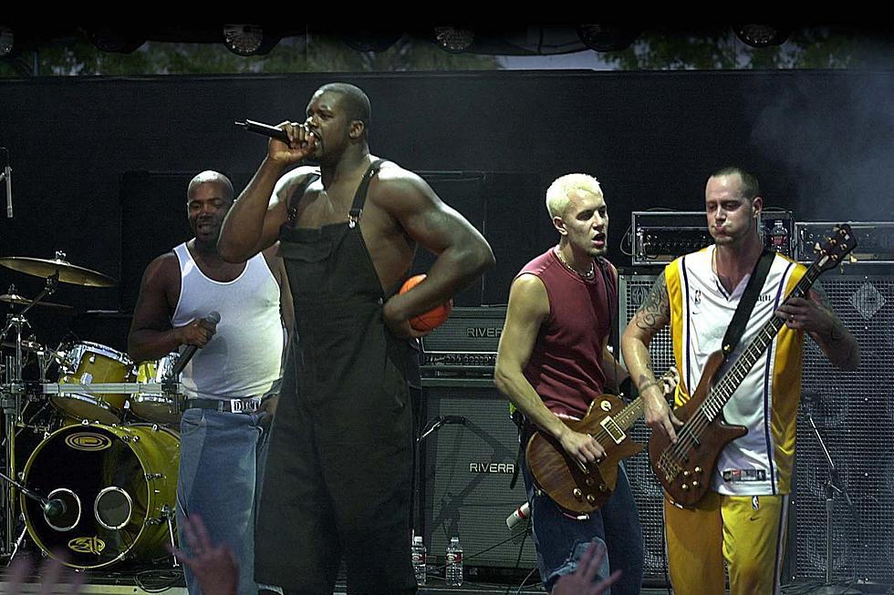 Atunci când Shaquille O'Neal s-a alăturat celor de la 311 pe scenă și s-a ales cu buza spartă