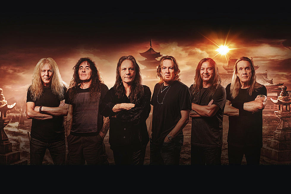 Iron Maiden anunță lansarea celui de-al 17-lea album si devăluie un nou Eddie