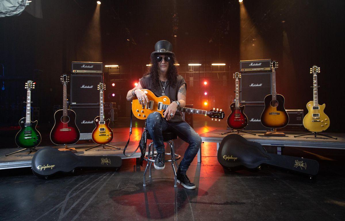 """Slash anunță noua colecție de chitare """"Epiphone Slash"""""""