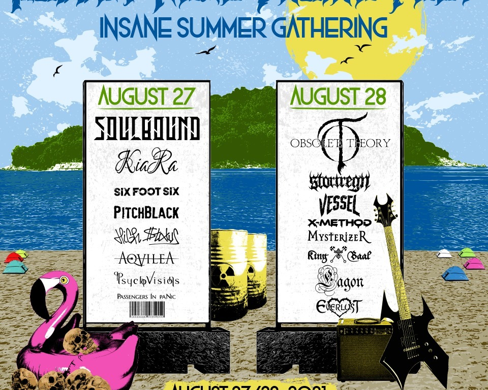 Bloody News Online Fest: Insane Summer Gathering 2021