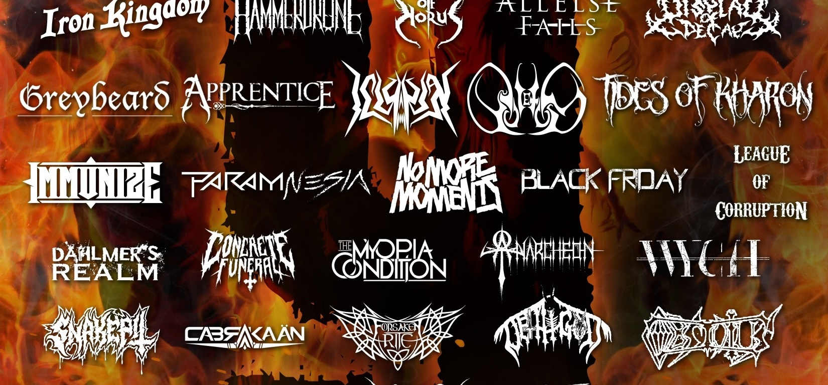 Canadian MetalFest LOUD AS HELL Reveals 2021 Line Up For Its Return July 30 - Aug 1