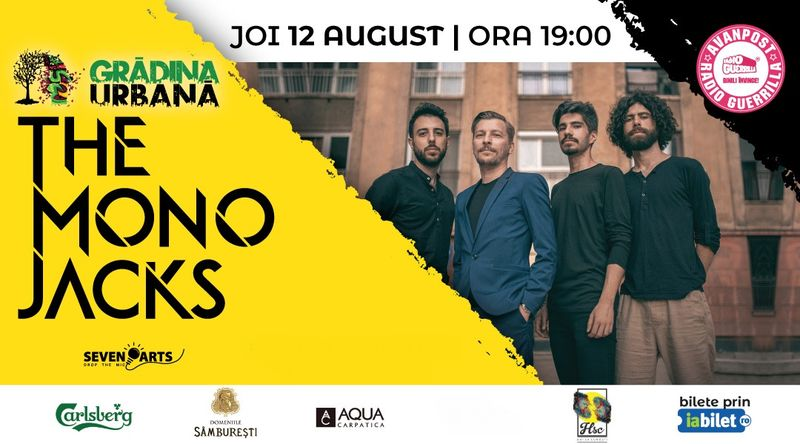 The Mono Jacks #acousticintheGarden at Grădina Urbană