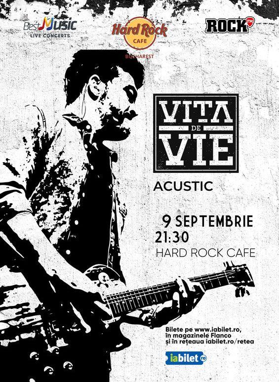 Concert Vita de Vie - Acustic