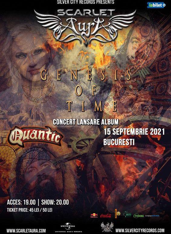 Scarlet Aura – Concert Lansare Album – Genesis of Time