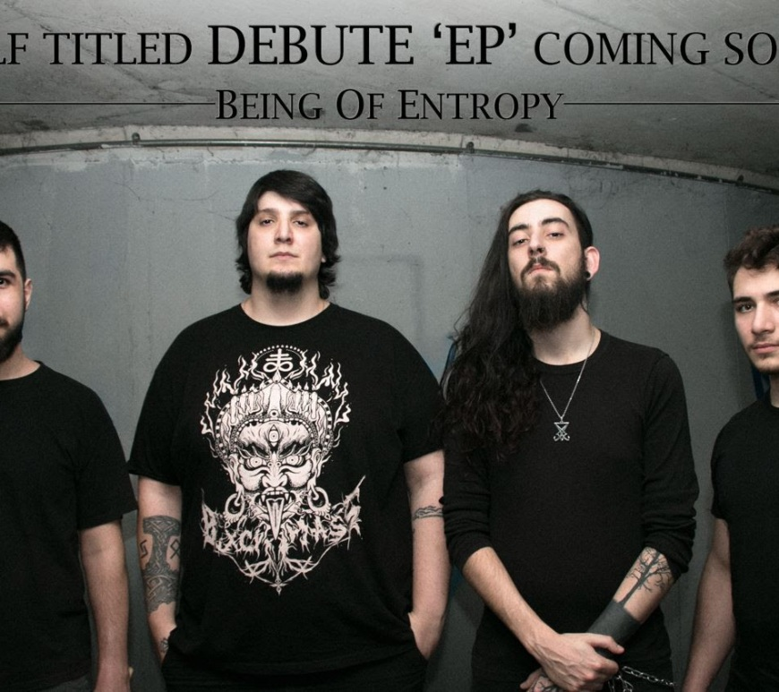 BEING OF ENTROPY will release their debut self-titled EP soon!