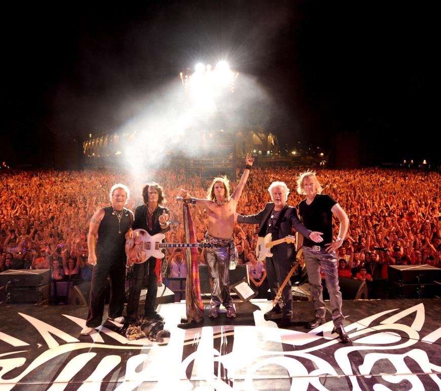 Aerosmith și Universal Music Group anunță un parteneriat istoric, la nivel mondial