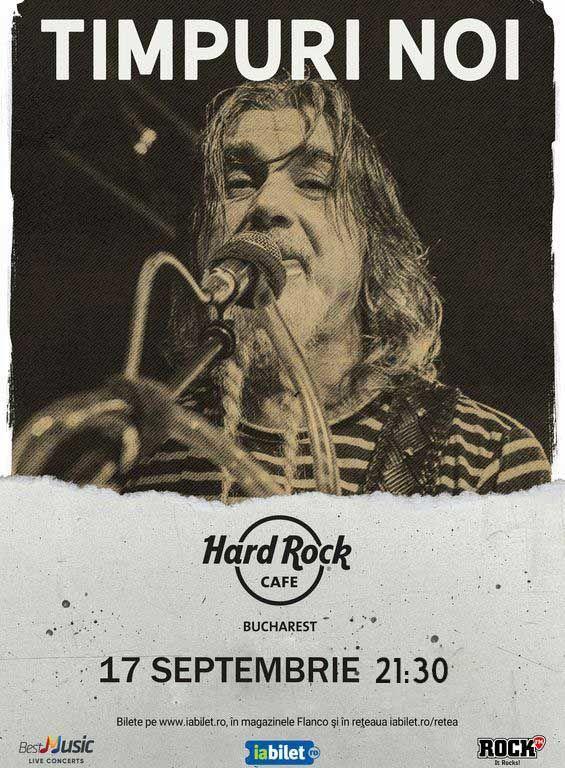 Concert Timpuri Noi la Hard Rock Cafe