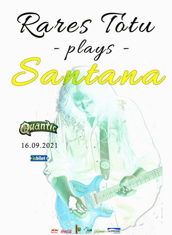 Rares Totu plays Santana la Club Quantic București