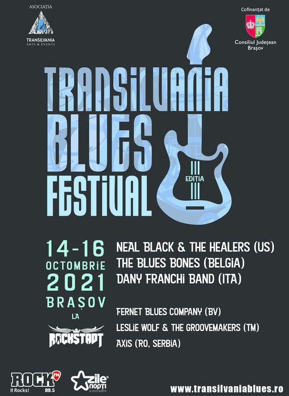 Transilvania Blues Festival - Ediția III