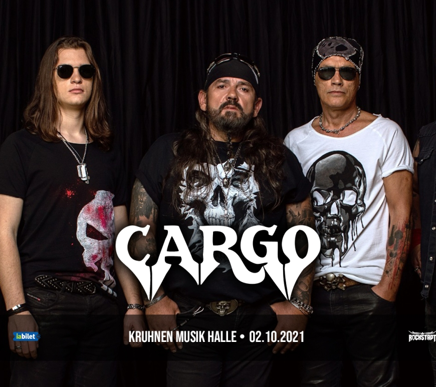 Concert CARGO la Kruhnen Musik Halle