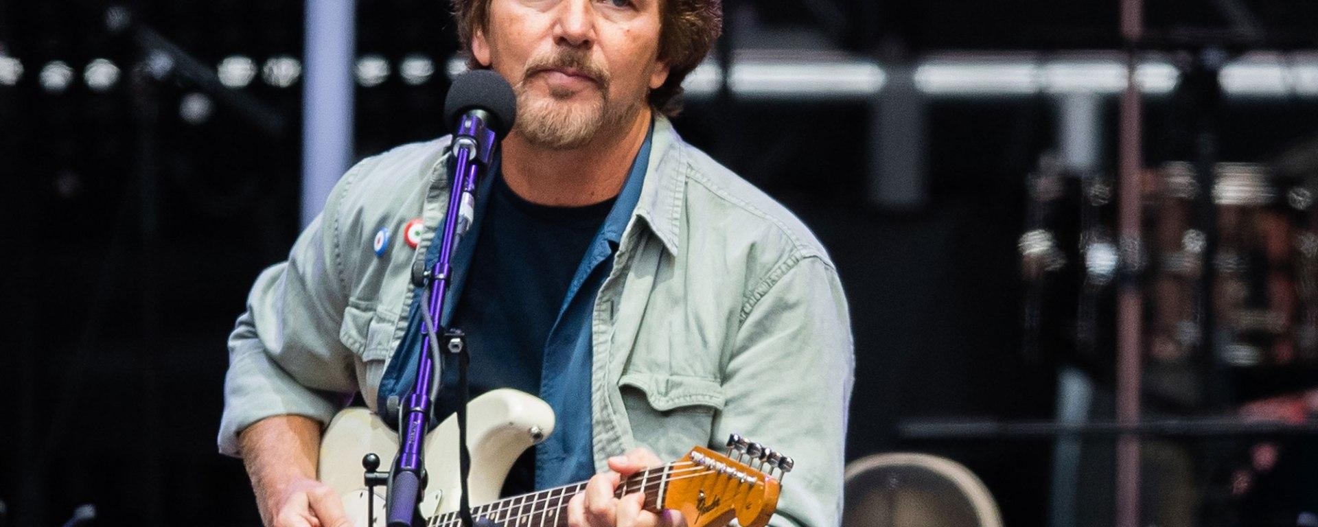 Eddie Vedder a lansat piesa 'Long Way' și anunță albumul 'Earthling'