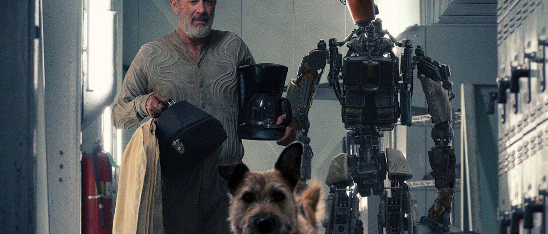 Tom Hanks este alături de un câine simpatic și un robot de treabă în trailerul filmului Finch