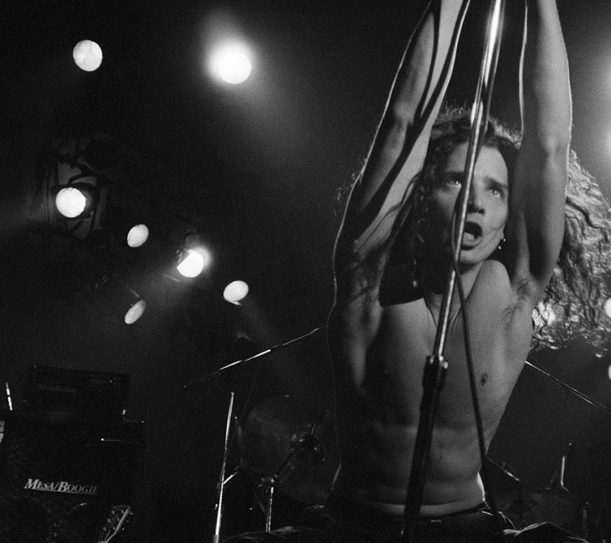 Soundgarden și albumul Louder Than Love: vezi fotografii incredibile cu Chris Cornel and co.