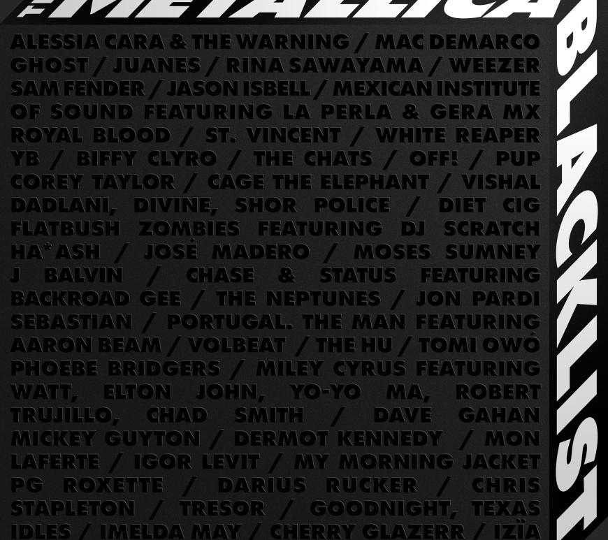 "Metallica a lansat digital ""THE BLACK ALBUM Remastered"" si ""THE METALLICA BLACKLIST"""
