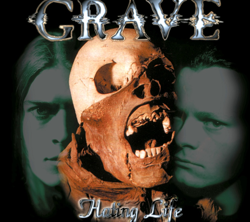 """Grave - """"Hating Life"""" (re-released)"""