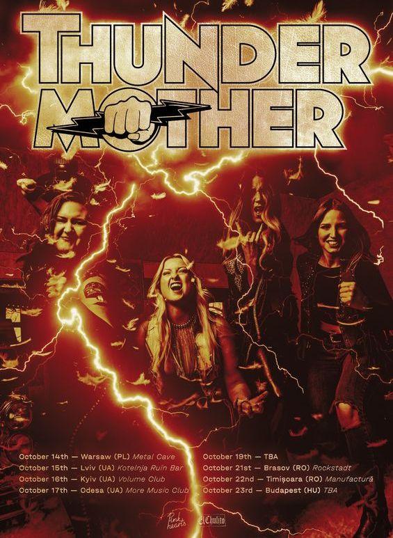 Brasov: Thundermother [SWE] Live în Rockstadt , Brasov
