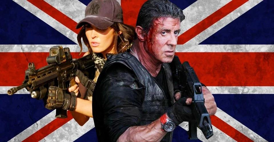 Sylvester Stallone este în Londra, unde lucrează la noul film Expendables 4